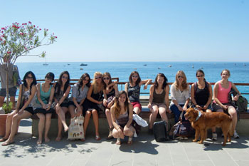 Excursion for italian language students